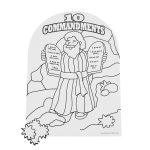 15 Fresh Free Printable Ten Commandments Coloring Pages   Free Printable Ten Commandments Coloring Pages