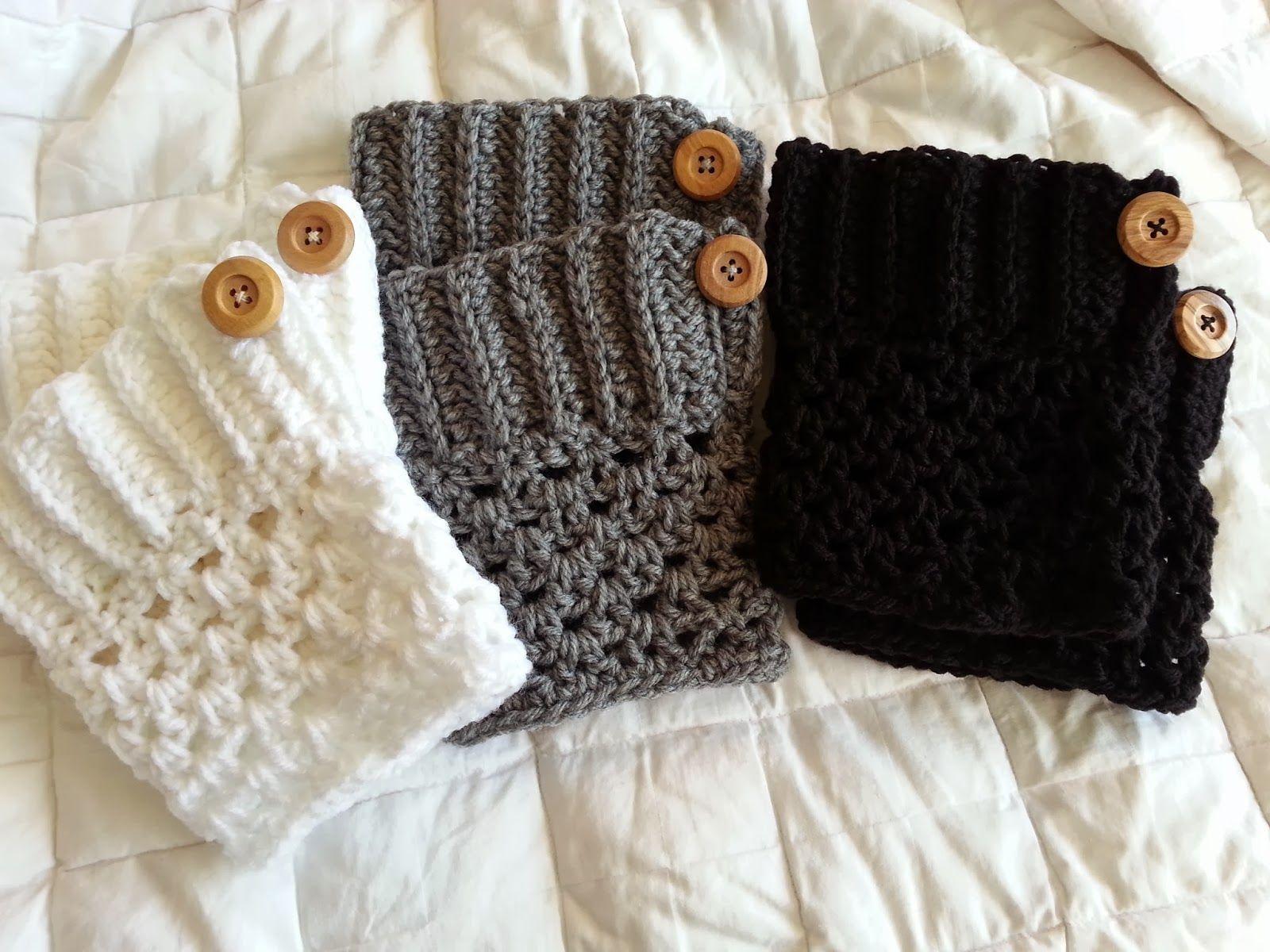 16 Free Boot Cuff Crochet Patterns   Boot Cuffs/leg Warmers - Free Printable Crochet Patterns For Boot Cuffs