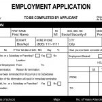 16+ Printable Job Applications | Zasvobodu – Free Printable Job Application Form Pdf