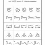 17 Best Images Of Visual Form Constancy Worksheets   Free Visual   Free Printable Form Constancy Worksheets