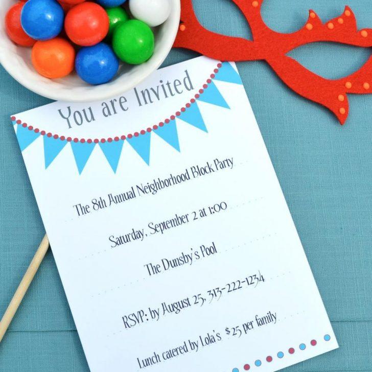 Free Printable 18Th Birthday Invitations