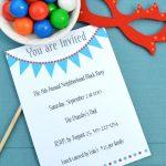 17 Free, Printable Birthday Invitations   Free Printable Event Invitations