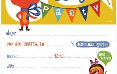17 Free, Printable Birthday Invitations - Free Printable Princess Invitations