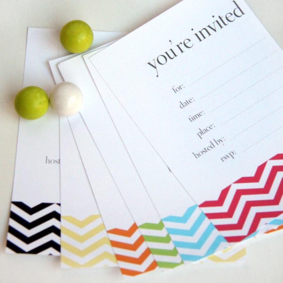 17 Free, Printable Birthday Invitations - Happy Birthday Invitations Free Printable