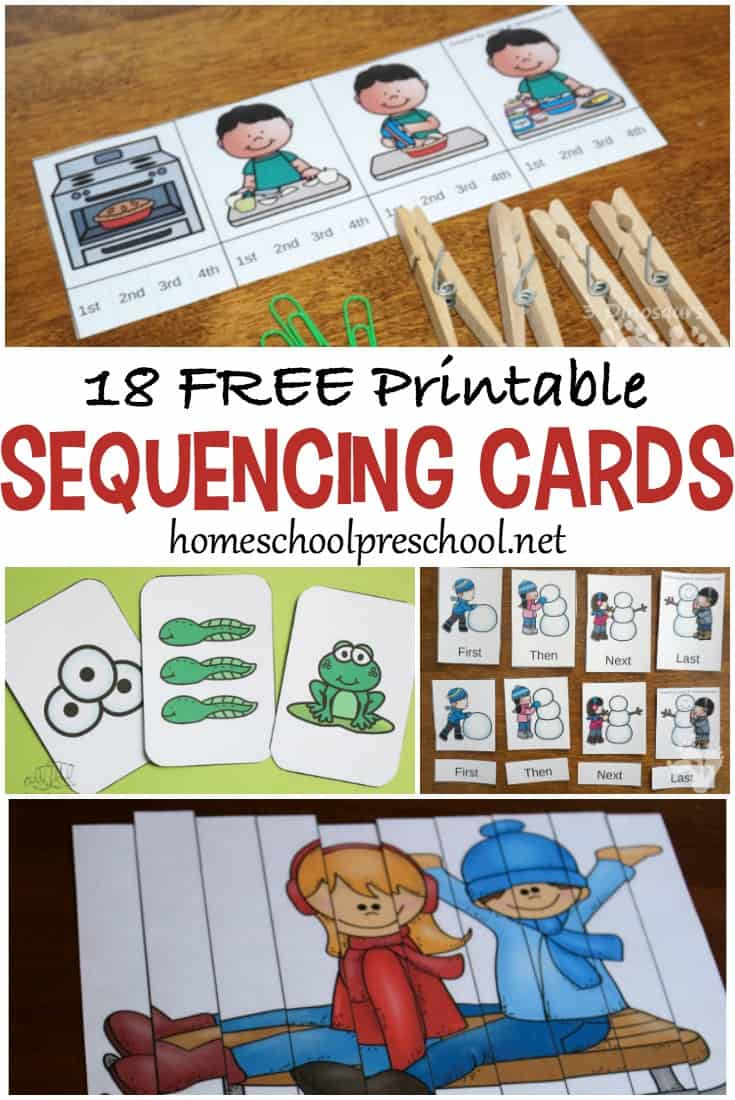 18 Free Printable Sequencing Cards For Preschoolers - Free Printable Sequencing Cards