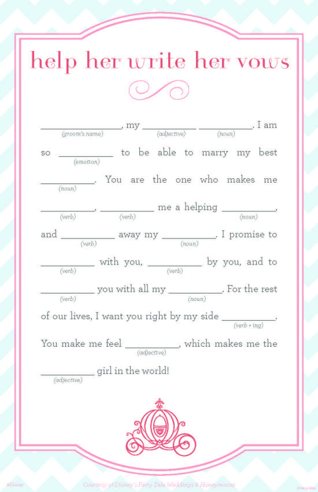 18 Fun Wedding Mad Libs | Kittybabylove - Free Printable Wedding Mad Libs