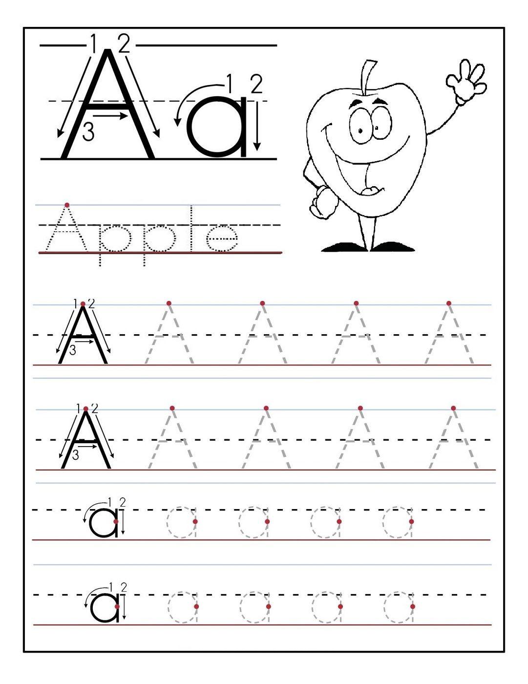 18 Inspirational Free Printable Preschool Worksheets Tracing Letters - Free Printable Preschool Worksheets Tracing Letters