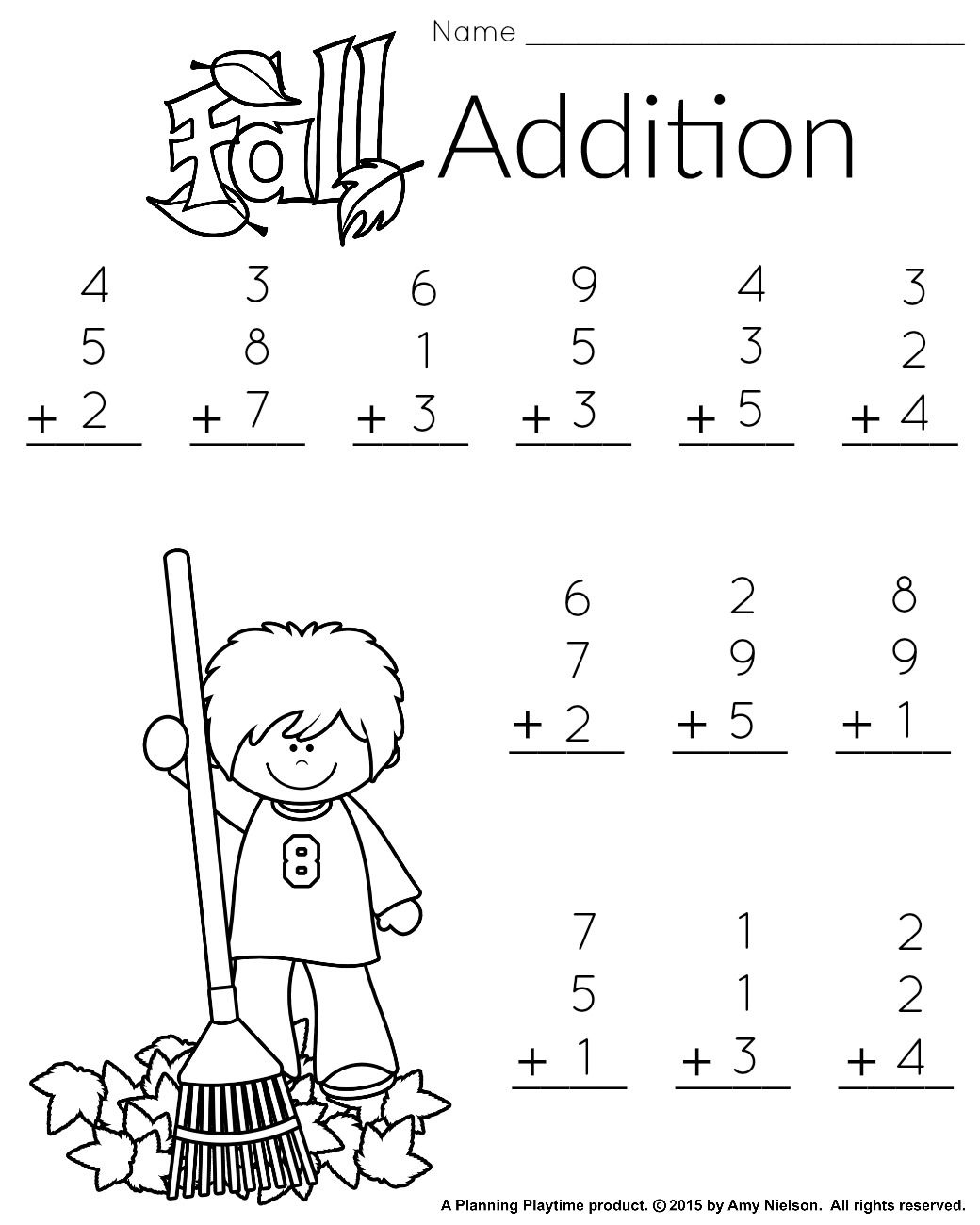 1St Grade Math And Literacy Worksheets With A Freebie - Free Printable First Grade Math Worksheets
