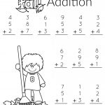 1St Grade Math And Literacy Worksheets With A Freebie!   Planning   Free Printable Worksheets For 1St Grade Language Arts