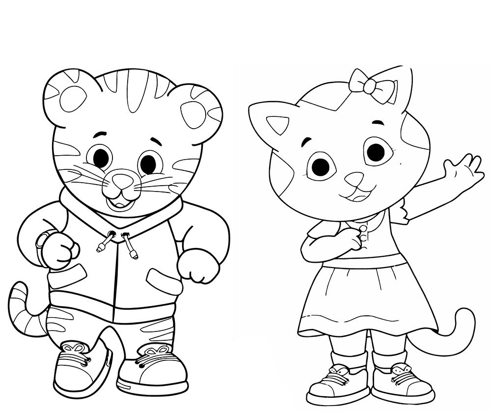 20 Daniel Tiger Halloween Coloring Page | Halloween Coloring Pages - Free Printable Daniel Tiger Coloring Pages