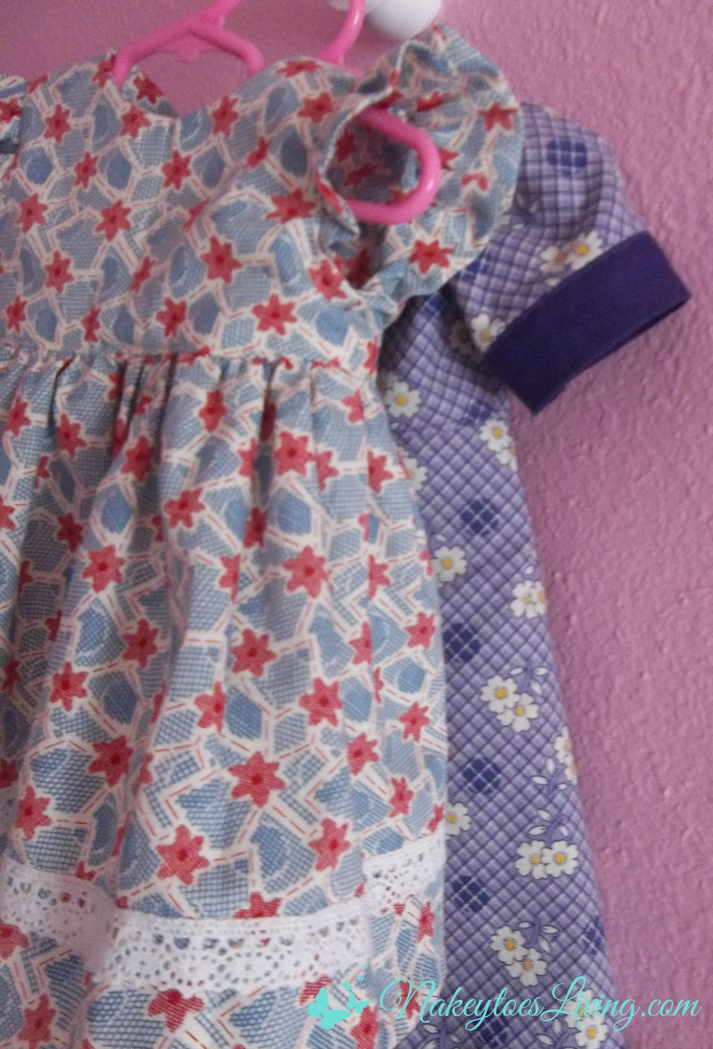 """20 Free 18"""" Doll Clothes Patterns - Nakeytoes Living - American Girl Clothes Patterns Free Printable"""