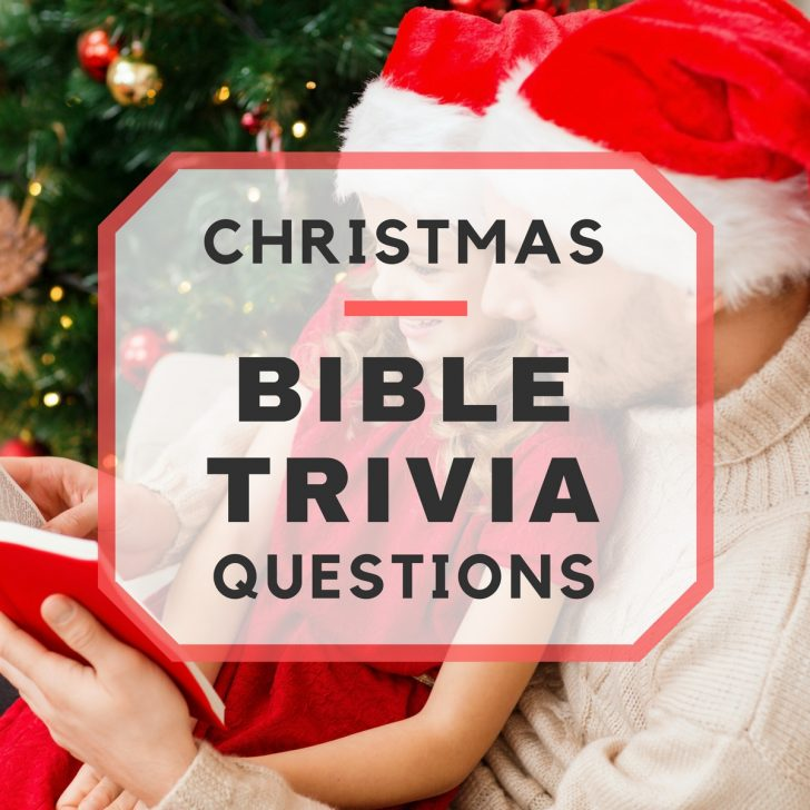 Free Printable Bible Trivia For Adults
