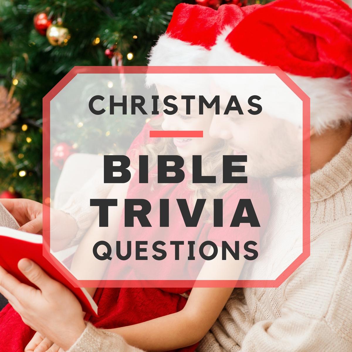 20 Fun Christmas Bible Trivia Questions - Free Printable Bible Trivia Questions And Answers