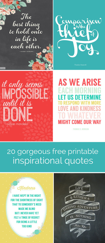 Free Printable Quote Stencils