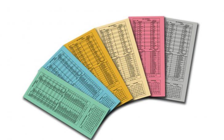 Free Printable Parlay Cards