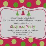 2018 Printable Christmas Party Invitations   Eventinvitationtemplates   Free Printable Personalized Christmas Invitations
