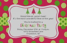 2018 Printable Christmas Party Invitations - Eventinvitationtemplates - Free Printable Personalized Christmas Invitations