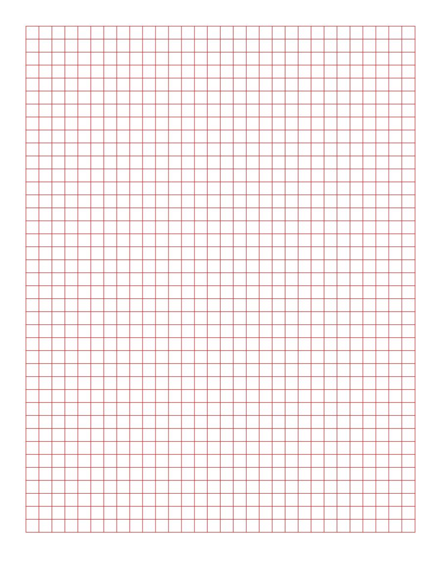 2019 Printable Graph Paper - Fillable, Printable Pdf & Forms | Handypdf - Free Printable Squared Paper