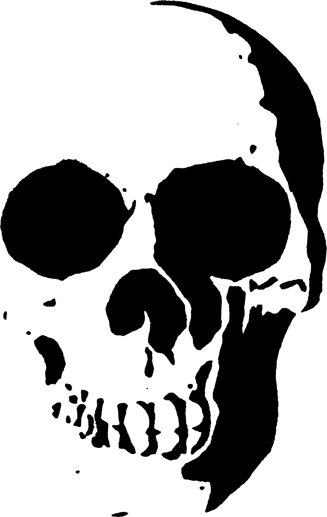 23 Free Skull Stencil Printable Templates | Guide Patterns - Free Printable Airbrush Stencils