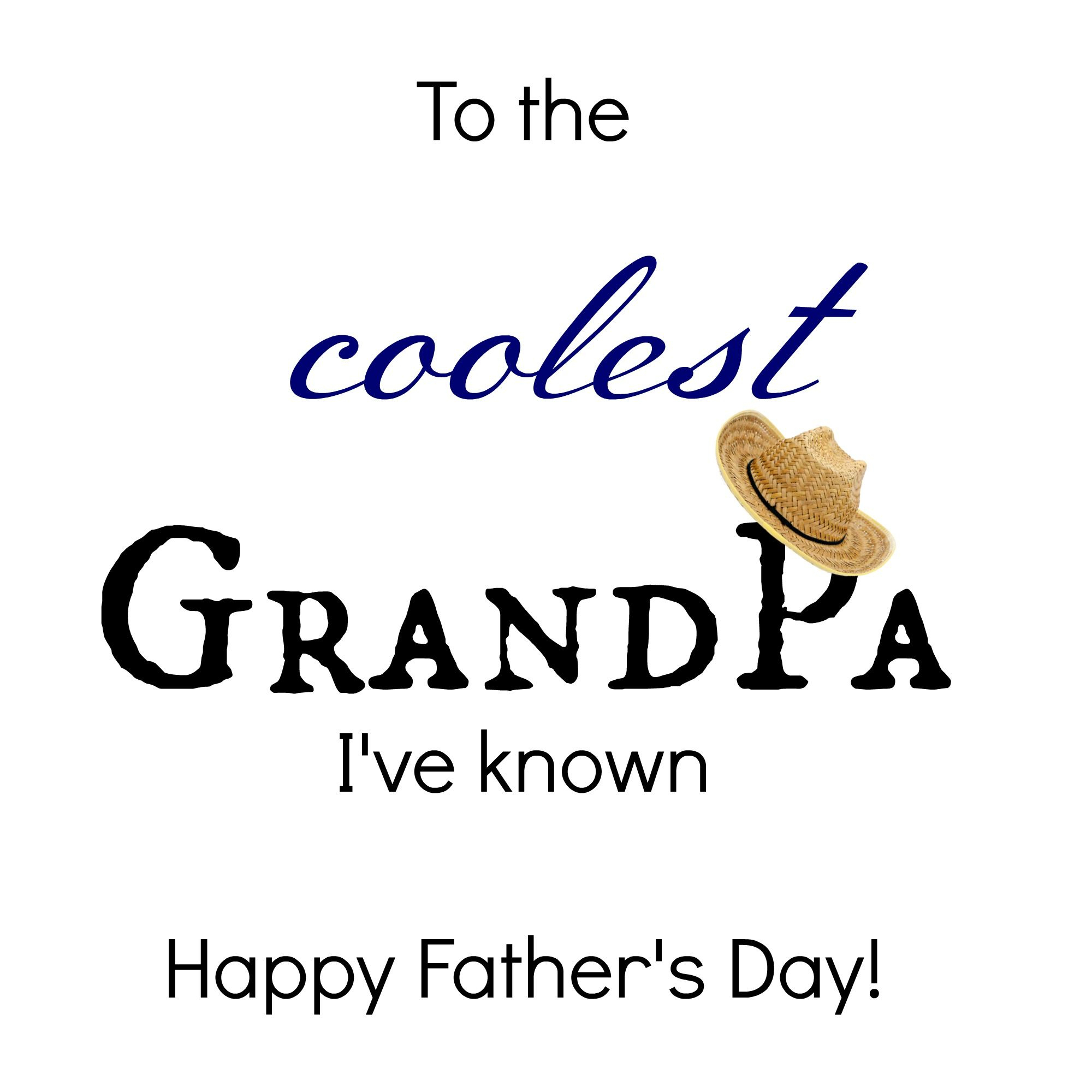 24 Free Printable Father's Day Cards Kittybabylove - Free Printable Happy Fathers Day Grandpa Cards