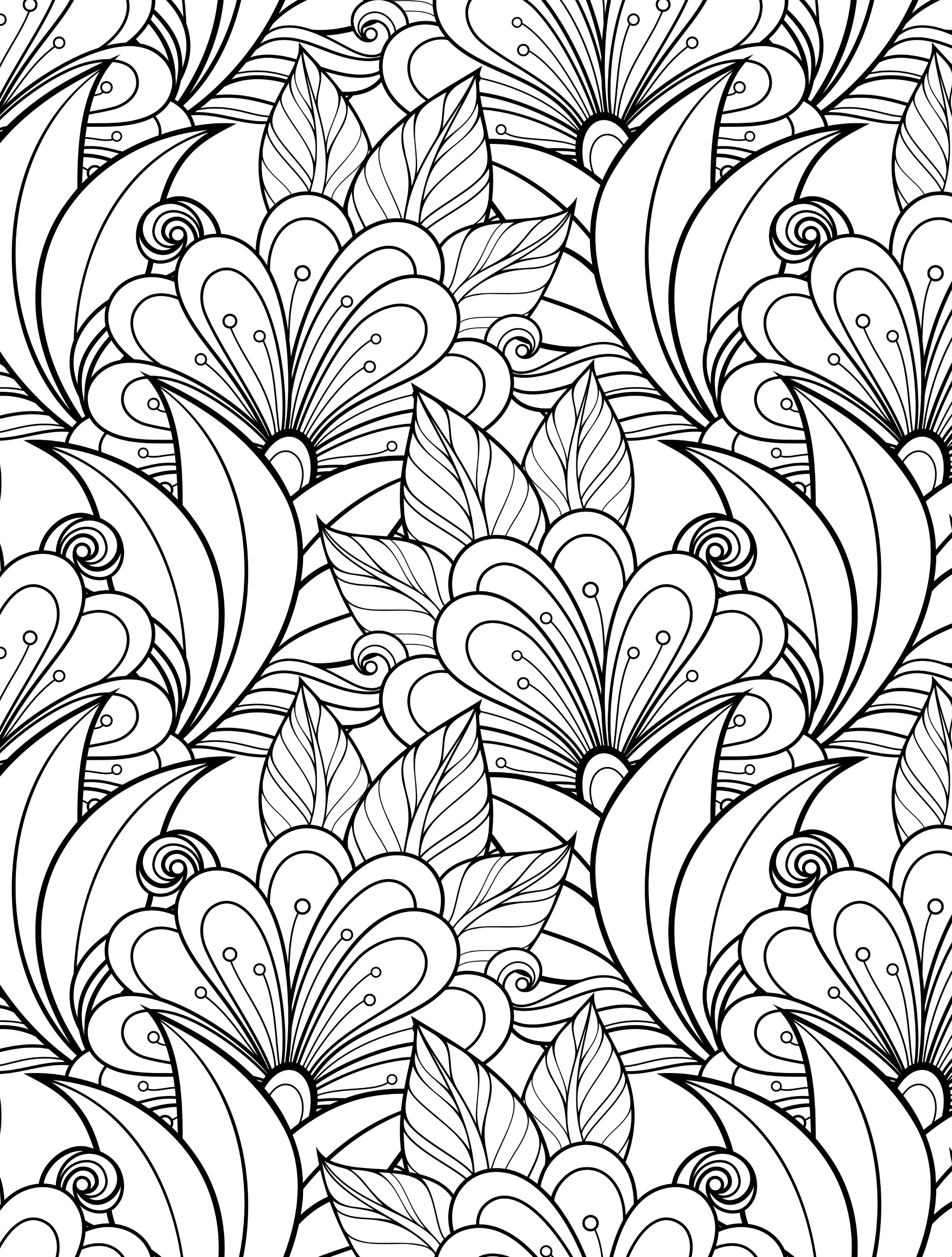 24 More Free Printable Adult Coloring Pages - Page 7 Of 25 - Nerdy Mamma - Free Printable Coloring Books For Adults