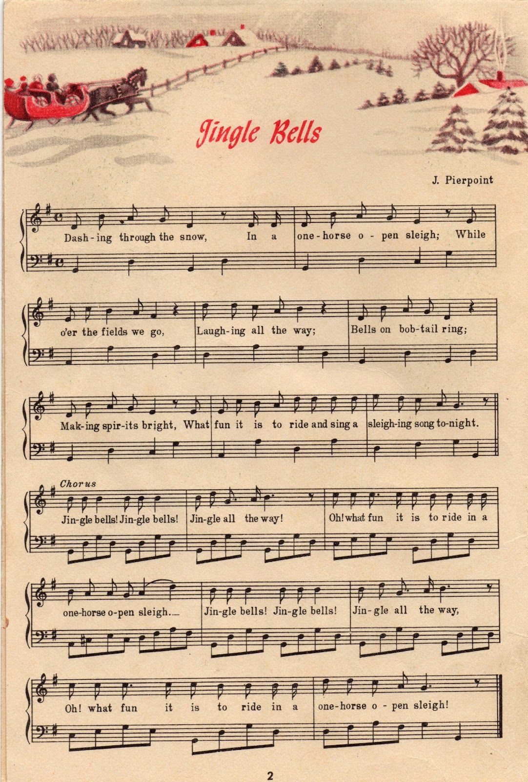 25+ Free Printable Vintage Christmas Sheet Music | Christmas Ideas - Christmas Carols Sheet Music Free Printable