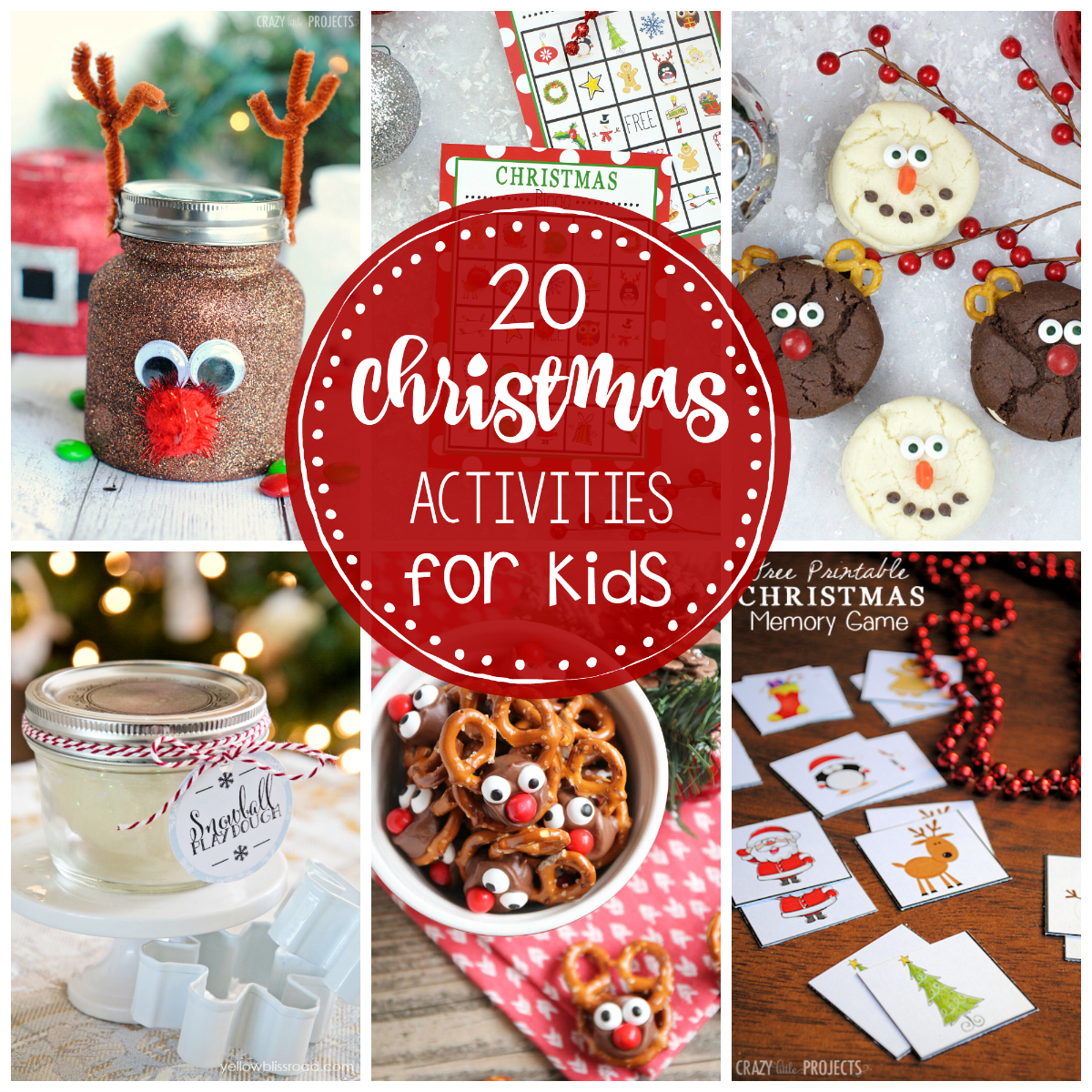 25 Fun Christmas Activities For Kids-Crazy Little Projects - Free Printable Christmas Games For Preschoolers