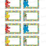 27 Images Of Elmo Label Template | Bfegy   Free Printable Sesame Street Food Labels