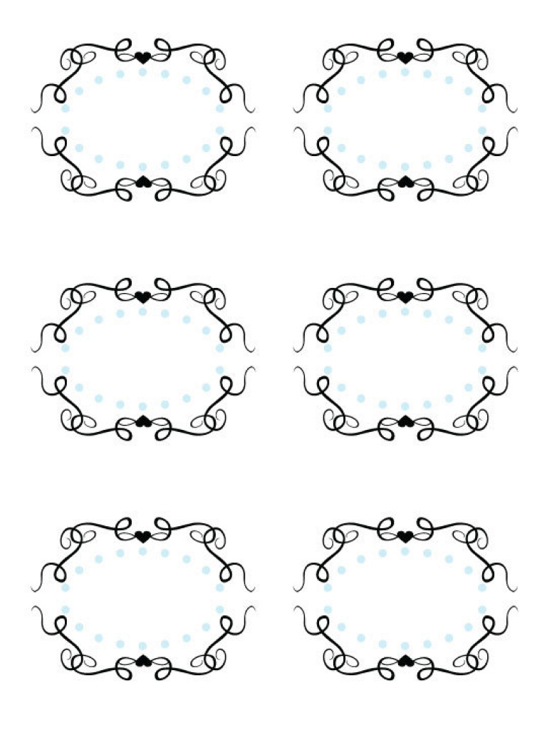27 Images Of Printable Fancy Labels Template   Leseriail Pertaining - Fancy Labels Printable Free