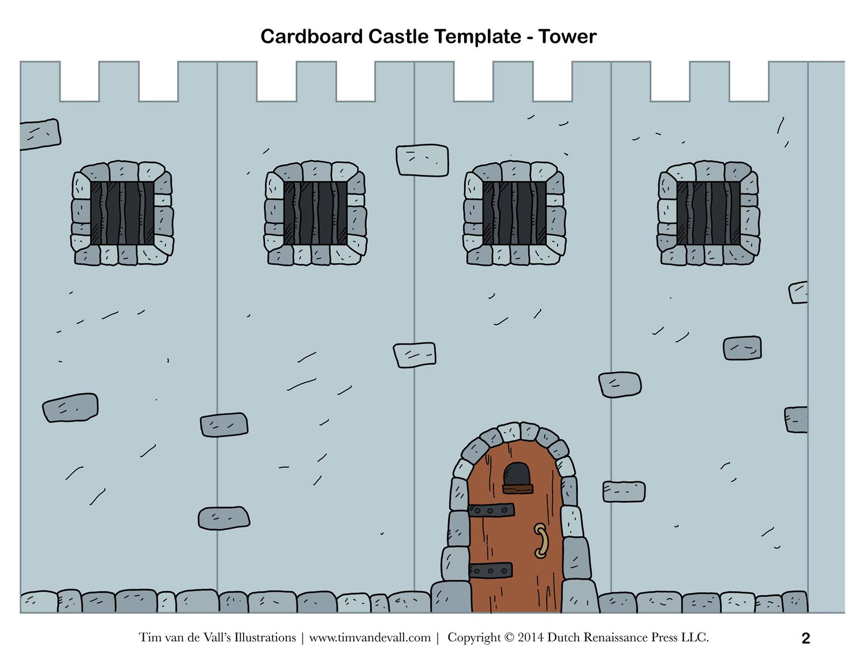 28 Images Of Cut Out 3D Shape Template Castle | Bfegy - Free Printable Castle Templates