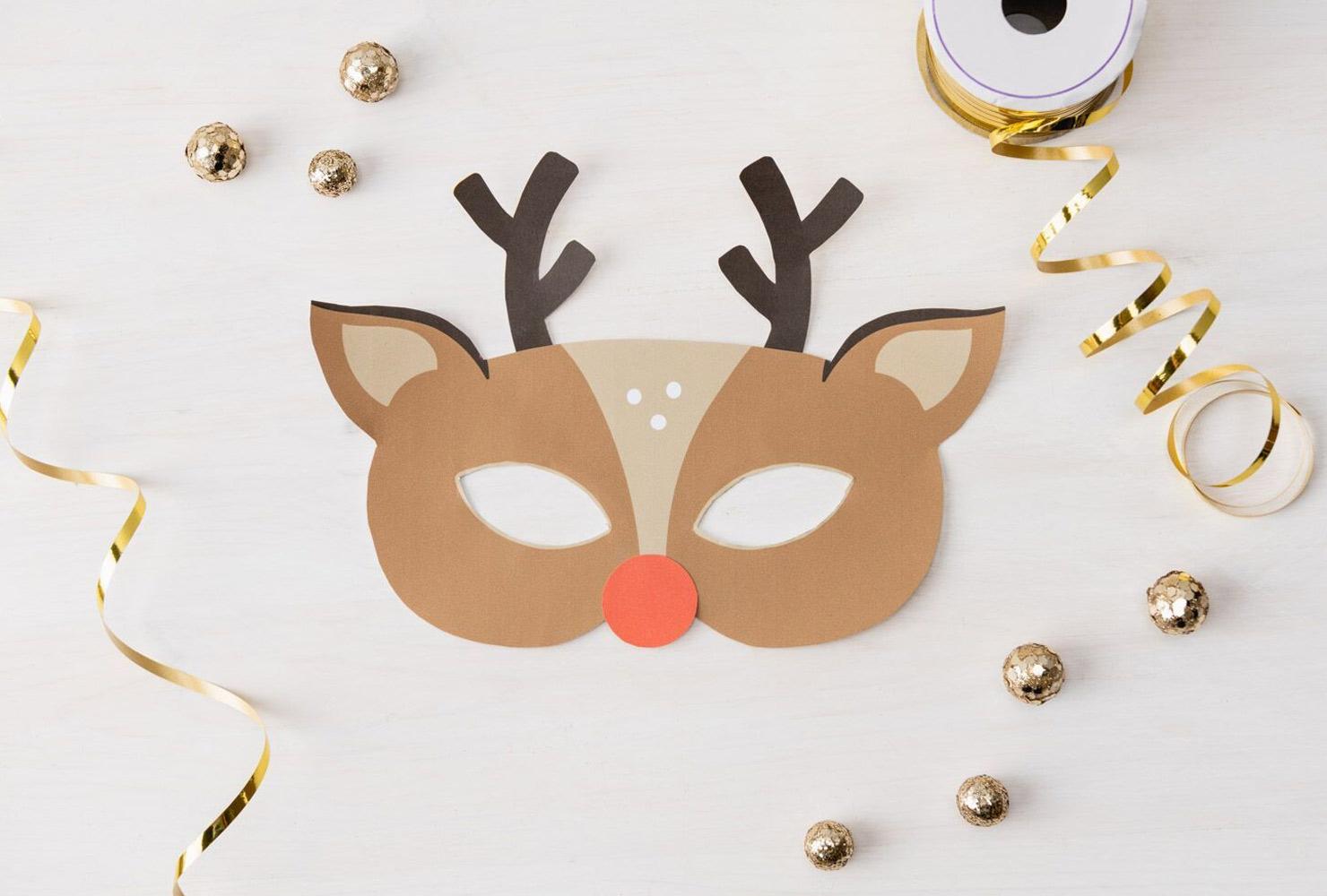 29 Christmas Crafts For Kids + Free Printable Crafts   Shutterfly - Free Printable Christmas Craft Templates