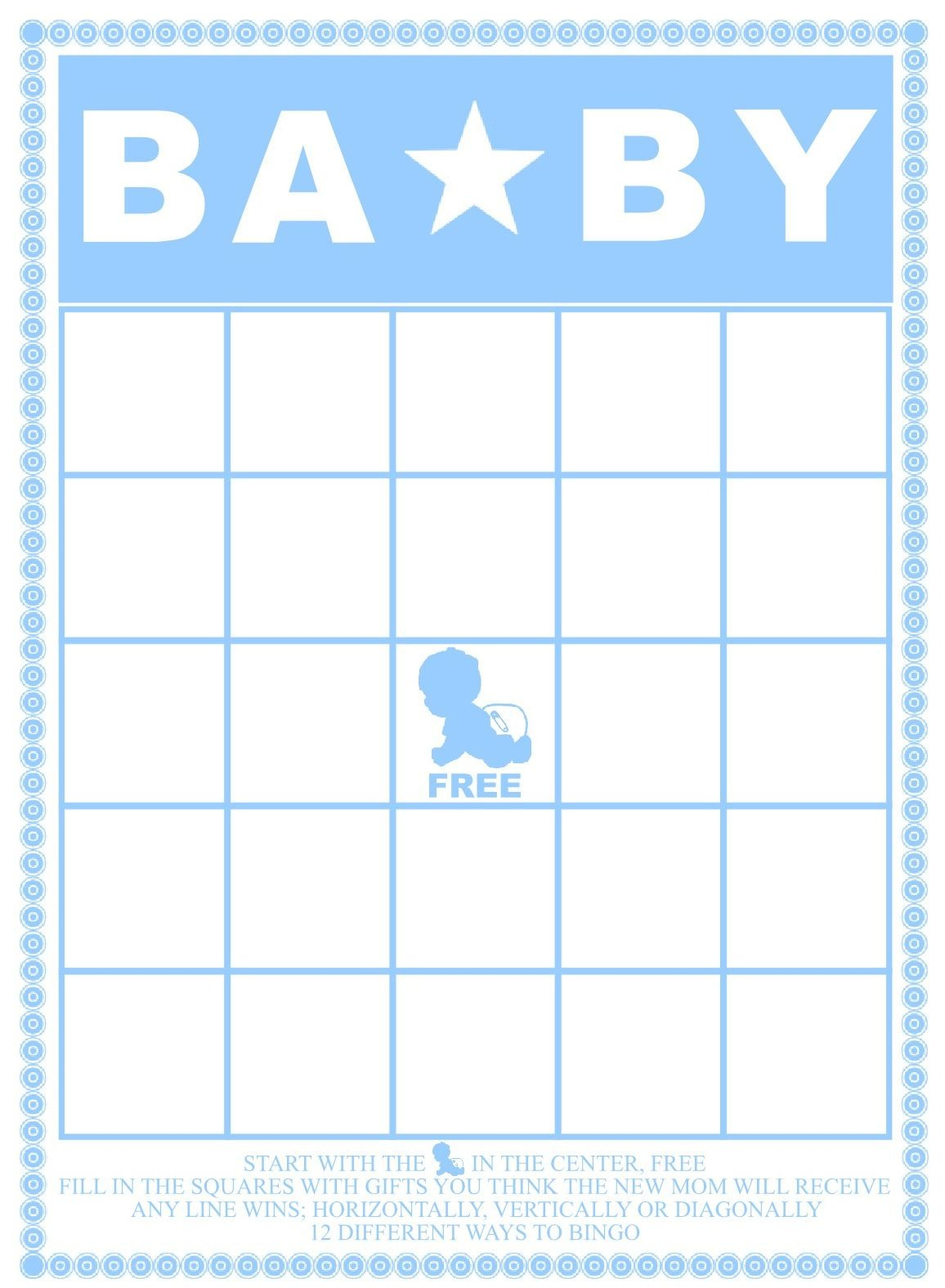 29 Sets Of Free Baby Shower Bingo Cards Pertaining To Baby Bingo - Printable Baby Shower Bingo Games Free