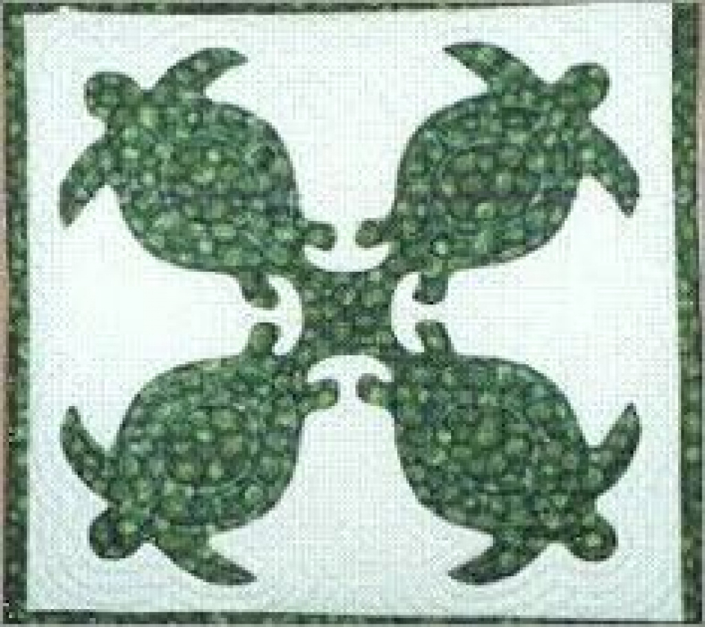 296 Best Hawaiian Quilts Images On Pinterest In 2018 | Hawaiian - Free Printable Hawaiian Quilt Patterns