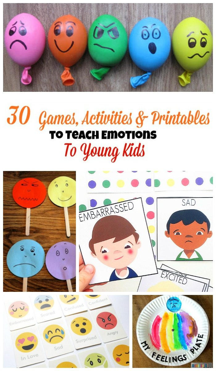 30 Activities And Printables That Teach Emotions For Kids - Free Printable Memory Exercises