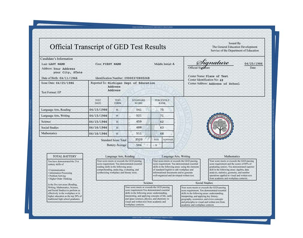 30+ Fake Transcripts - College Template Collection Free Download!! - Free Printable Ged Transcripts