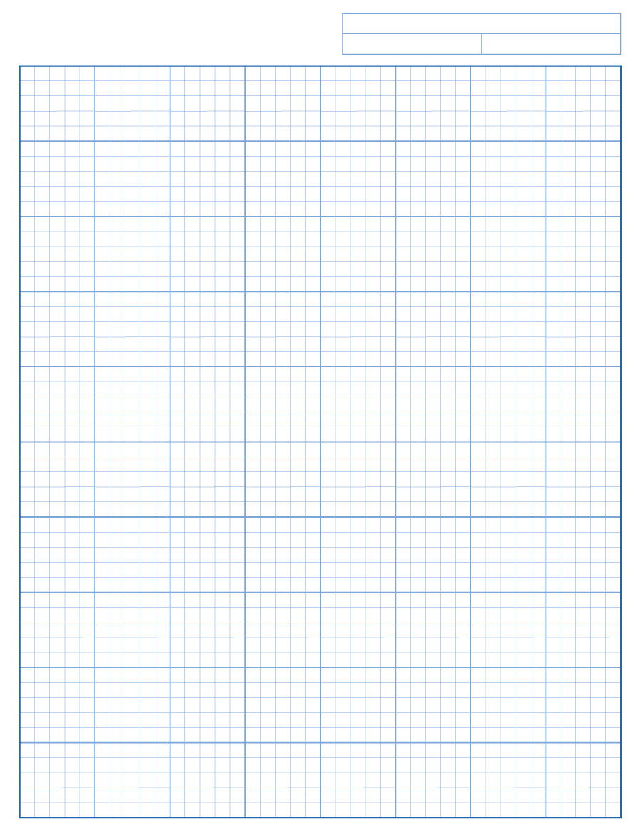 30+ Free Printable Graph Paper Templates (Word, Pdf) ᐅ Template Lab - Free Printable Graph Paper 1 4 Inch
