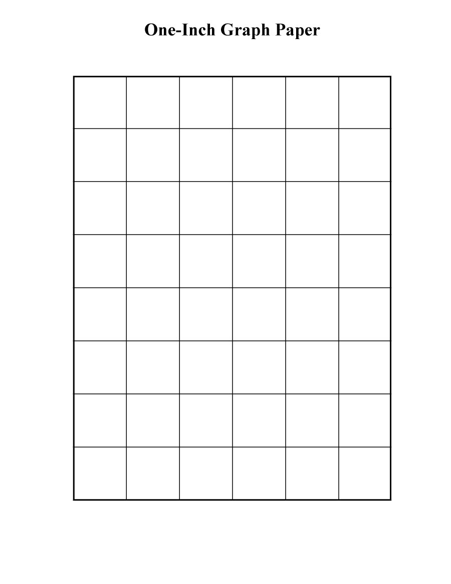 30+ Free Printable Graph Paper Templates (Word, Pdf) - Template Lab - Free Printable Templates