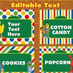 30 Images Of Sesame Street Labels Template | Tonibest For Free   Free Printable Sesame Street Food Labels