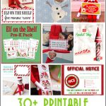 30+ Printable Elf On The Shelf Ideas   Over The Big Moon   Elf On The Shelf Printable Props Free