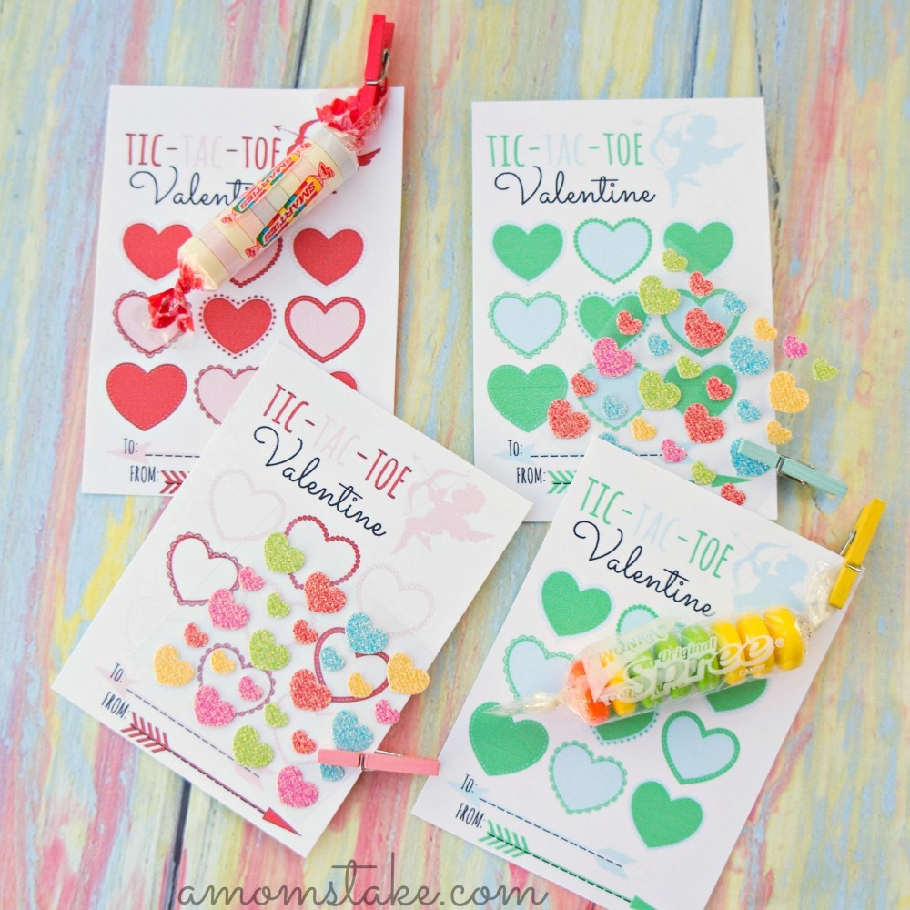 30 Super Cool Printable Valentine's Cards For The Classroom - Free Printable School Valentines Cards
