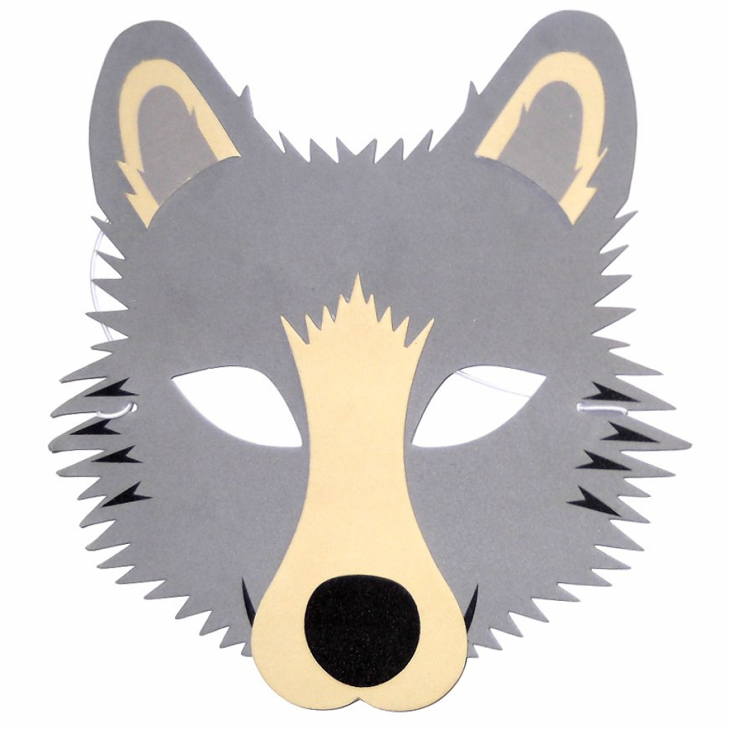 30 Wolf Masks | Face Masks For Events | Masks For Groups For Free - Free Printable Wolf Mask