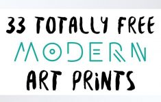 33 Totally Free Modern Art Printables For Your Home | *all Things - Free Printable Artwork To Frame
