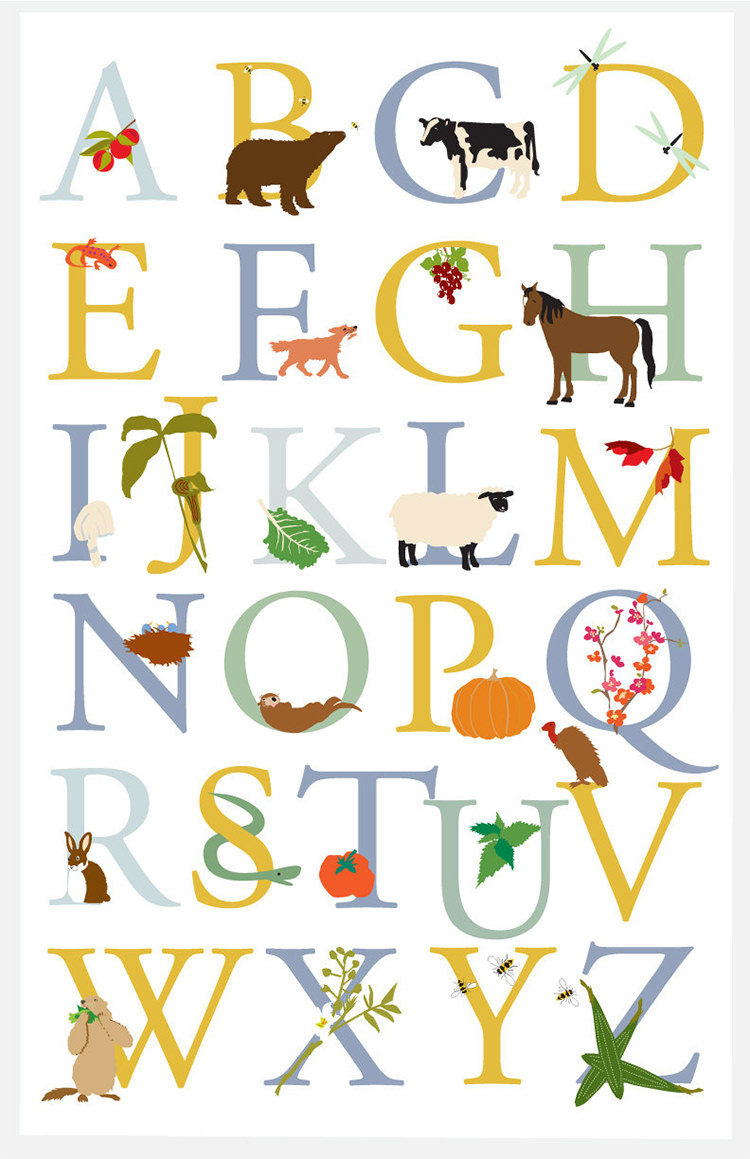 35+ Best Printable Alphabet Posters & Designs | Free & Premium Templates - Printable Posters Free Download