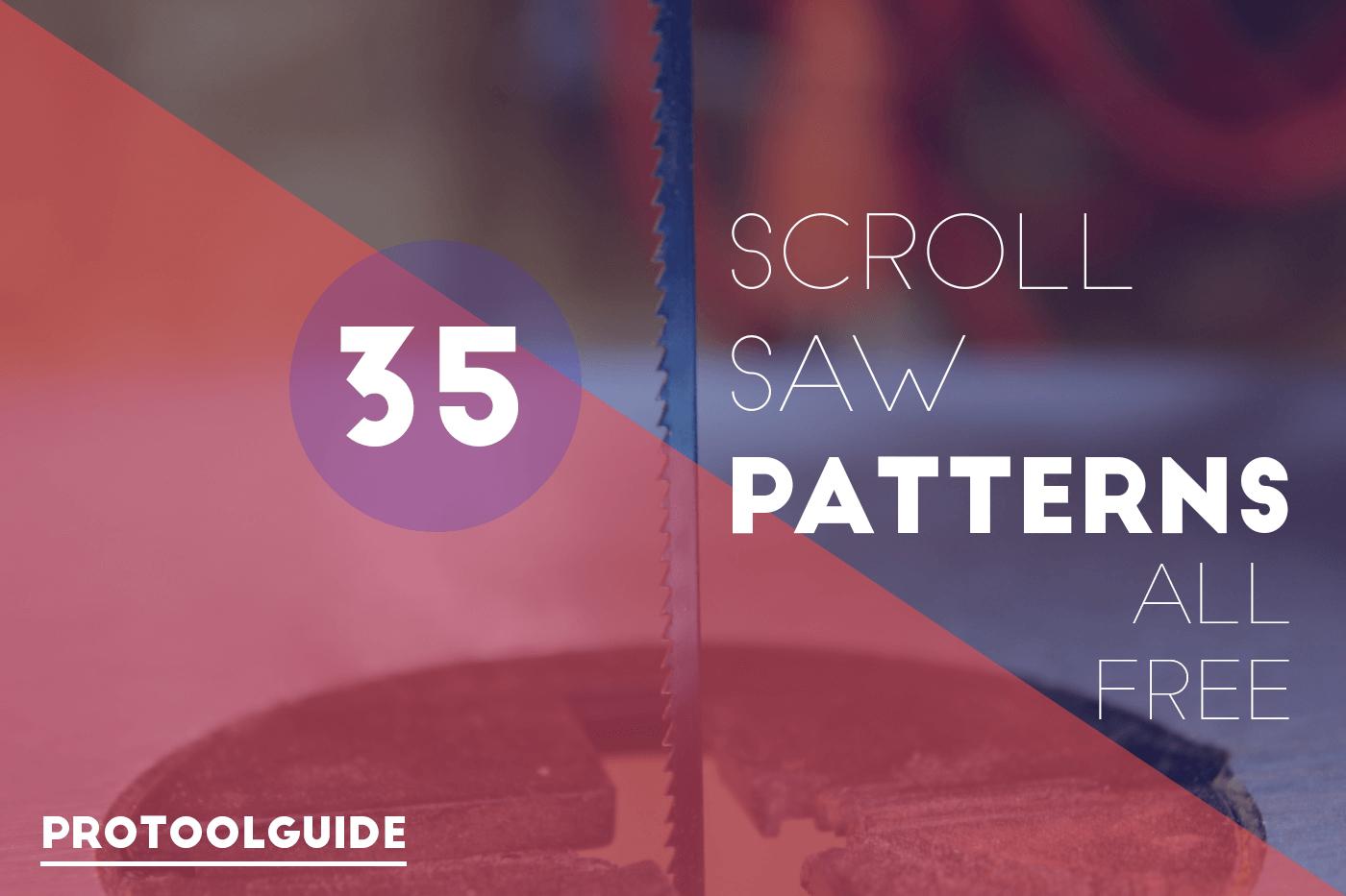 35 Free Scroll Saw Patterns To Make Pretty Wood Crafts - Free Printable Scroll Saw Patterns