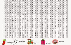 36 Printable Christmas Word Search Puzzles   Kittybabylove - Free Online Printable Word Search