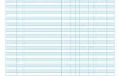 Free Printable Blank Check Register Template