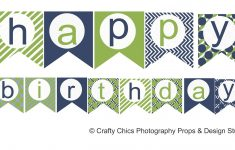39 Unique Happy Birthday Banner Template Diy | Wall Design And - Free Printable Happy Birthday Signs
