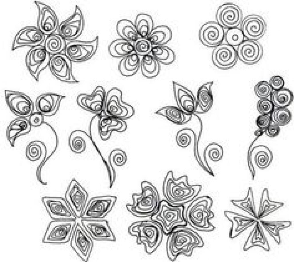 391 Best Quilling Patterns Images On Pinterest In 2018 | Quilling - Free Printable Quilling Patterns Designs