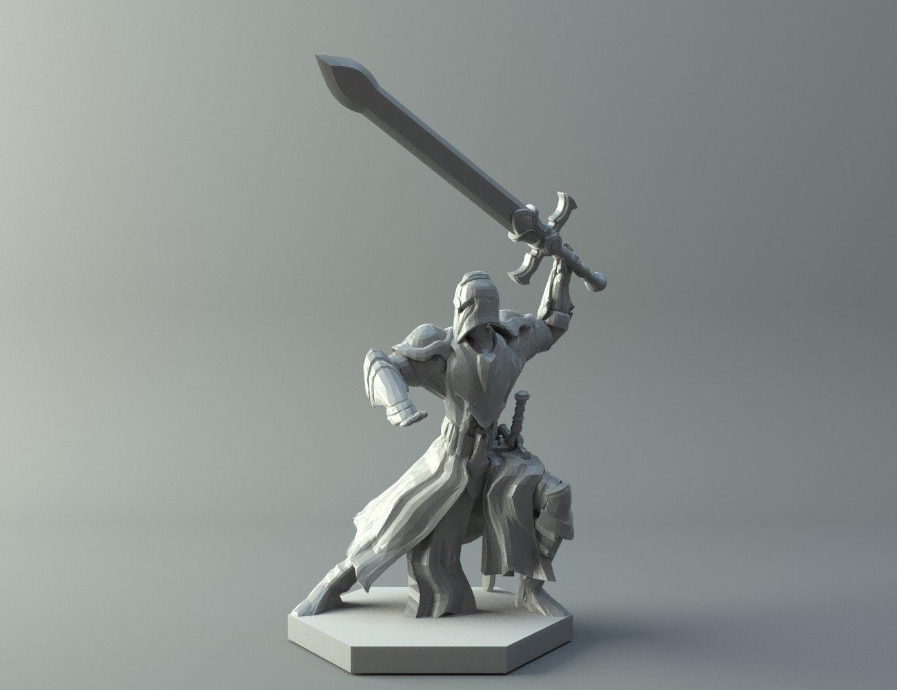 3D Print Model Character Warrior | Cgtrader - Free 3D Printable Models