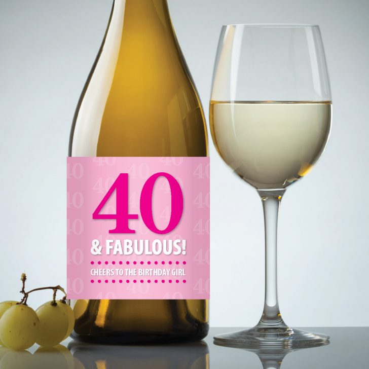Free Printable Wine Labels For Birthday